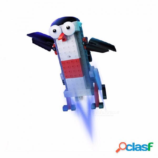 Robot original xiaomi mitu / robot de construcción inteligente, bluetooth control remoto móvil app kit de juguete stem - blanco