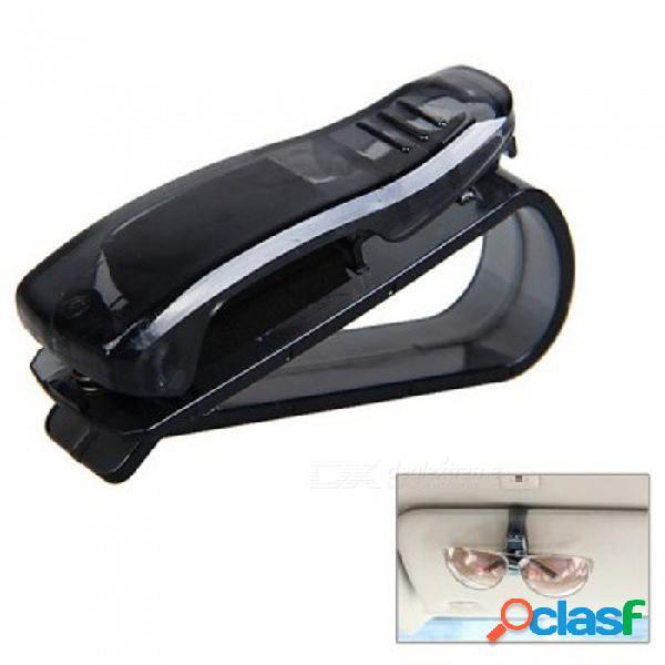 Soporte de la pluma de la tarjeta del clip de las gafas de sol de kiccy abs para el vehículo del coche