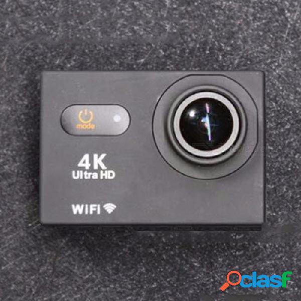 V3t 2.0 pulgadas de pantalla táctil 4k hd cámara de deportes dv, cámara de video wi-fi a prueba de agua videocámara negra