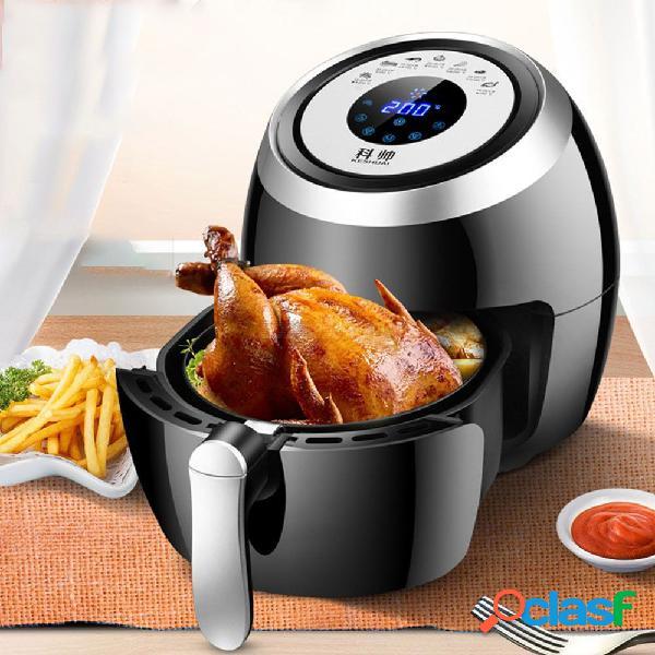 1500w 3.6l sartén de la freidora de aire de la pantalla táctil eléctrica sin aceite de humo patatas fritas freír la máquina