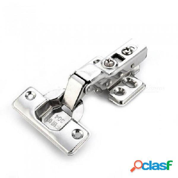 Bisagra puerta de acero inoxidable bisagras hidráulicas amortiguador amortiguador cierre suave para armario empotrado muebles hardware insert insertar