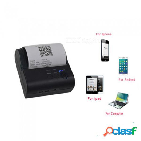 Impresora térmica inalámbrica bluetooth usb 80mm portátil de esamact, impresora de códigos de barras para recibos de pos para ventanas ios android