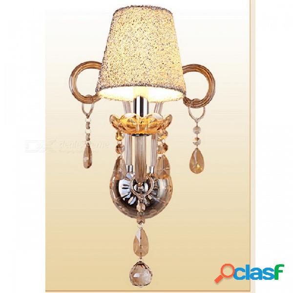 Lustre caliente lujoso estilo europeo, lámpara de techo, lámpara de techo con diseño de brazos, diámetro de 58 cm para sala de estar 1 luces