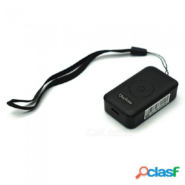 Quelima mini app coche localizador gps localizador de grabación mini gps rastreador de búsqueda antirrobo rastreador