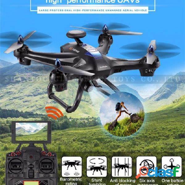 Drone Global X183 Altitud Profesional Helicóptero Mantener Wifi FPV RC Quadcopter Con Cámara HD 1080P 4K Drones VS MJX Bugs 3 X8 BK Sin Cámara