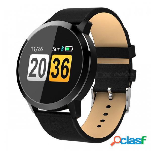 Q8 pulsera inteligente con correa de muñeca ip67 a prueba de agua con monitor de frecuencia cardíaca en tiempo real