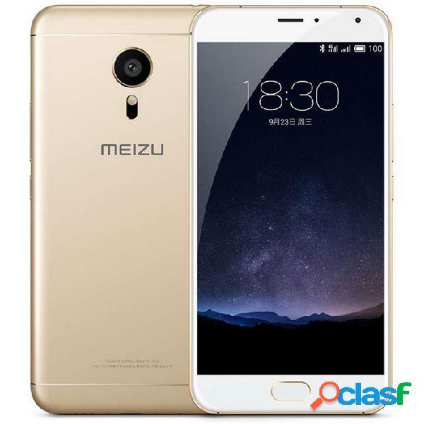 """Meizu pro 5 flyme 4.5 exynos7420 octa-core 4g celular con 5.7 """"ips 21.16mp 3gb + 32gb id de huella digital"""
