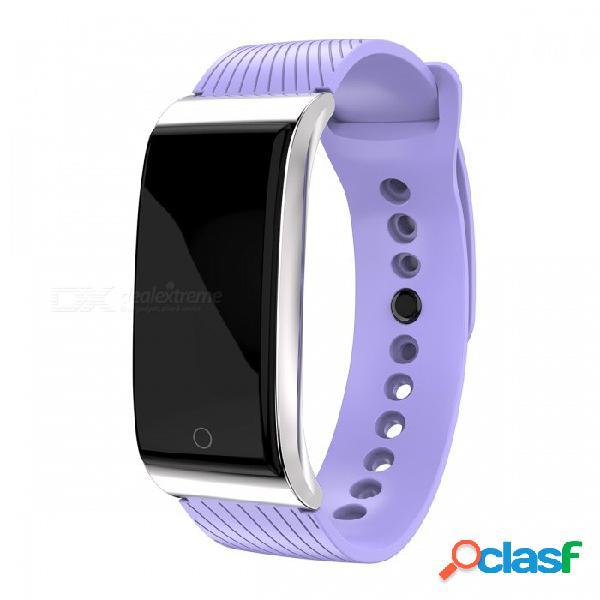 Pulsador dmdg inteligente rastreador de actividad física ritmo cardíaco monitor de presión arterial información del reloj empuje para ios android