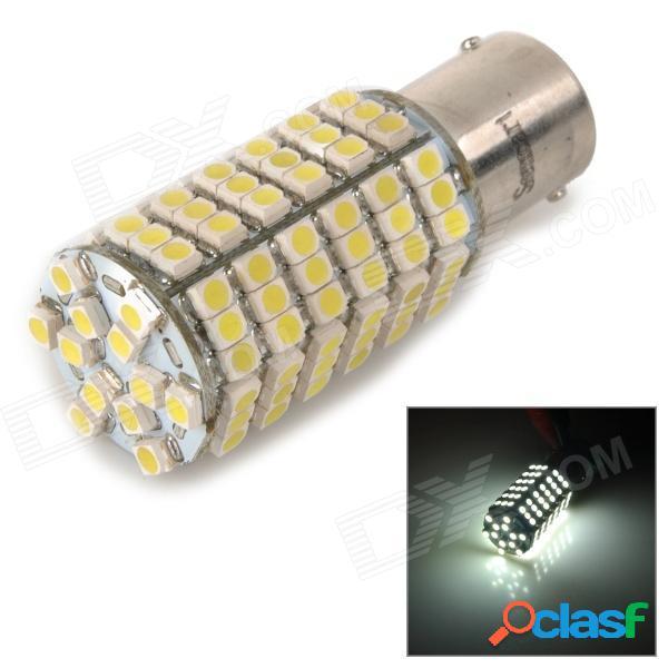 Sencart 1156 / ba15s / p21w 8w 200lm 6000k 3528 smd led luz blanca lámpara de freno de coche (dc 12 ~ 16v)
