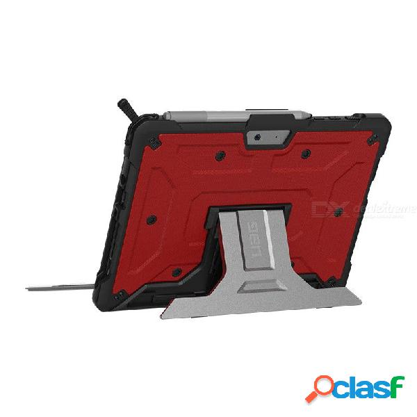 Uag 10 '' soporte resistente de aluminio resistente a las caídas de aluminio ligero como una pluma fundas para tabletas para microsoft surface go