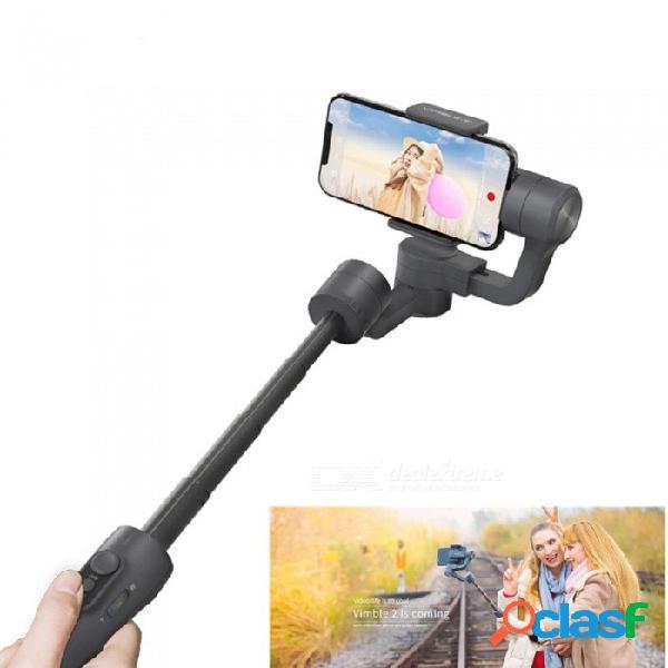 Esamact vimble 2 estabilizador de video estabilizador de 3 ejes estabilizador de mano para teléfono móvil para cara y fotografía de seguimiento de objetos