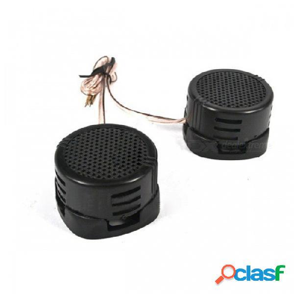 Universal auto car mini tweeter domo de alta eficiencia portátil 2x500w altavoz altavoz superpotencia de sonido de audio klaxon negro