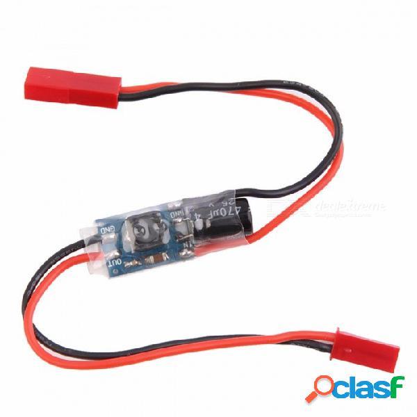 Filtro de alta calidad de la fuente de alimentación del filtro de 3.3v-25v dc-dc lc con el interruptor para fpv multicopter rc quadcopter rojo
