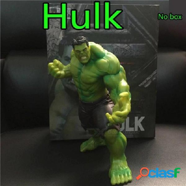 La figura de acción de hulk pvc juguete anime marvel's the avengers hulk display modelo colección juguetes cumpleaños regalo navidad 20 cm 20 cm