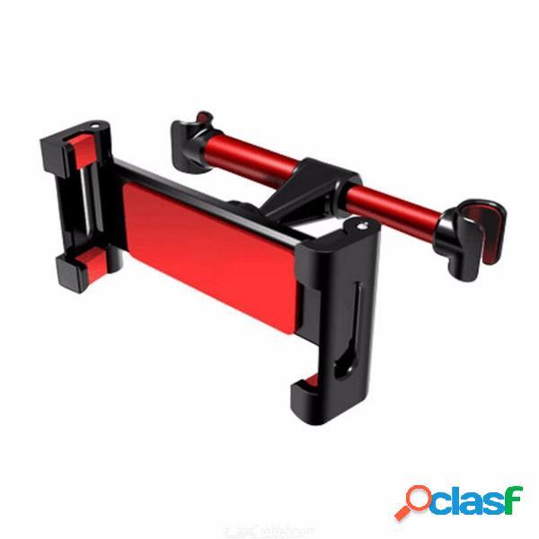 Soporte universal para coche asiento trasero soporte para teléfono soporte trasero soporte para automóvil - rojo