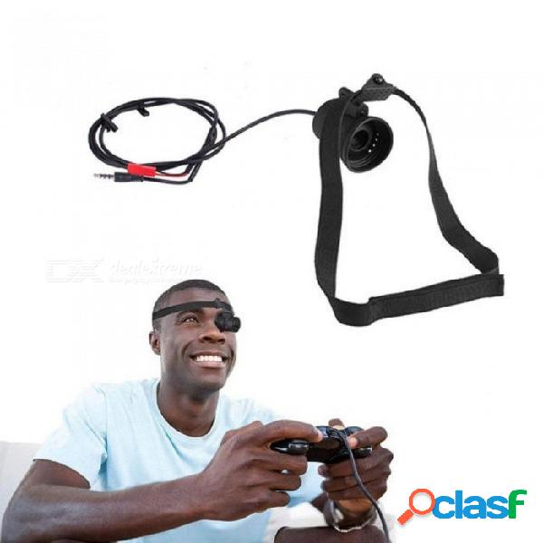 Diy 80 pulgadas monocular 854x480 micro pantalla lcd monitor de auriculares soporte de entrada fpv gafas para rc racing drone quadcopter negro
