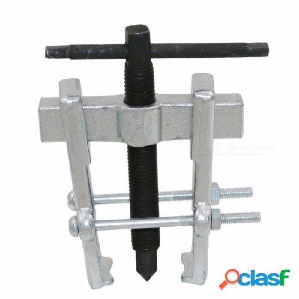 Extractor de dos garras de alta calidad dispositivo de elevación separado rodamientos de tracción mecánico automático herramientas de mano herramienta de trabajo de madera plata