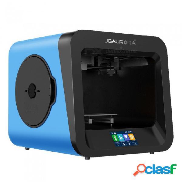 """Impresora jgaurora a4 3d con pantalla táctil colorida de 4.3 """", soporte de protección contra fallas de energía y detección de agotamiento"""