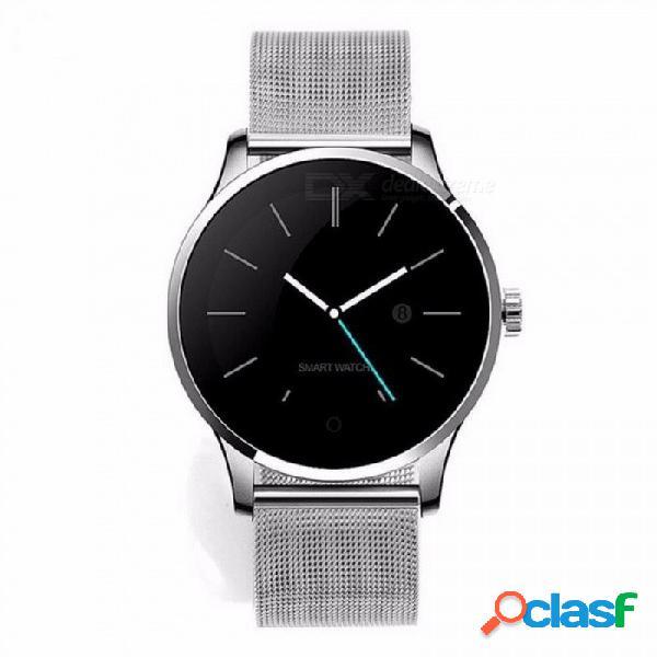 K88h reloj inteligente ios android monitor de ritmo cardíaco reloj inteligente 1.22 pulgadas ips pantalla redonda bluetooth smartwatch