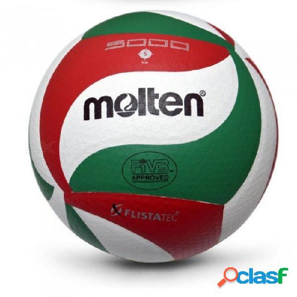 Pelota de voleibol suave al tacto de colores, vsm5000, talla 5 voleibol de calidad de partido libre con bolsa de red + tamaño de la aguja 5