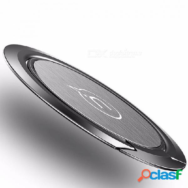 Usams 0.2mm ultra delgado soporte universal para teléfono 360 grados de aleación de aluminio y metal titular de anillo de dedo soporte para teléfono móvil