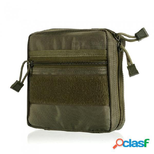 Accesorios para herramientas multifuncionales al aire libre accesorios bolsa de almacenamiento de herramientas médicas - verde militar