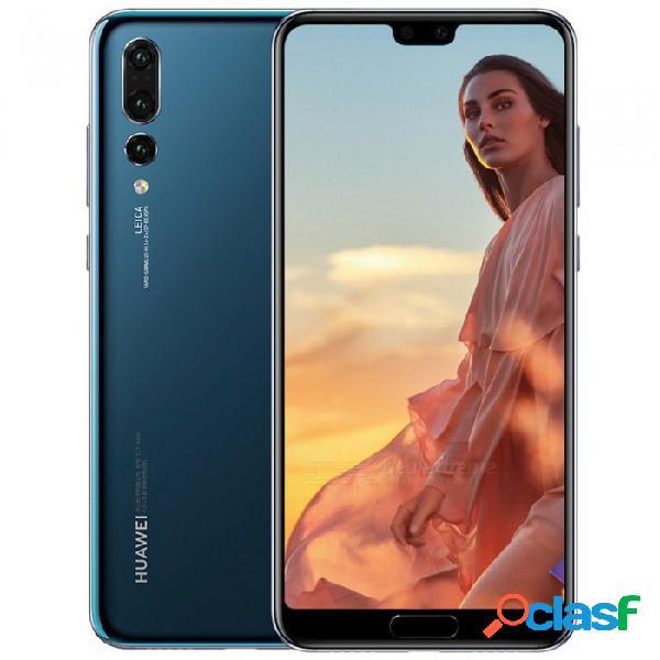 Huawei p20 pro kirin 970 octa-core 40mp lte 6.1 '', teléfono inteligente con 6gb de ram, rom de 128gb