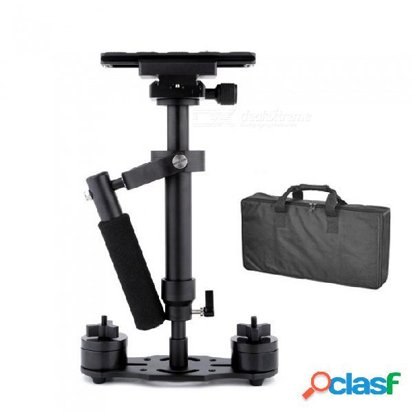 ESAMACT S80 Steadycam Estabilizador De Mano De Fibra De Carbono Escalable Steadicam Para La Cámara Compacta DSLR De Canon Nikon Sony