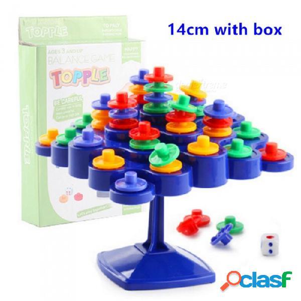"""Juego de mesa de equilibrio """"no dejes que se caiga cuando intentas ganar puntos"""" juego familiar interactivo entre padres e hijos para niños de 14 cm con caja"""