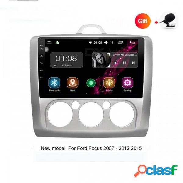 """Funrover android 8.0 hd 9 """"2-din pantalla táctil sistema de audio del coche radio reproductor de auto con estéreo navegación gps ford focus 2004-2011"""