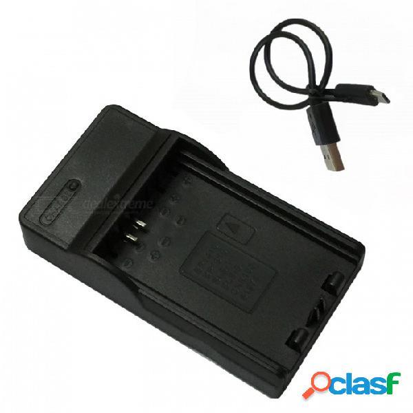 Cargador de batería de la cámara móvil ismartdigi bp1410 micro usb para samsung bp1410 bp-1410 batería - negro