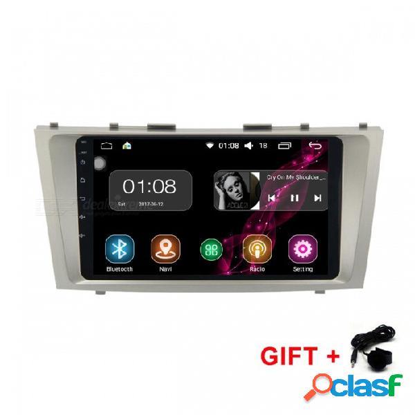 "Funrover android 8.0 hd 9 ""2-din pantalla táctil sistema de audio del coche radio reproductor de auto con estéreo navegación gps para toyota camry 2007-11"