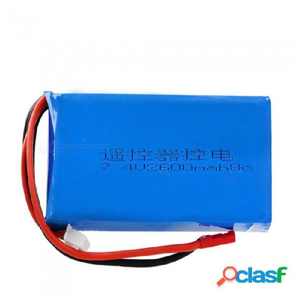 7.4v 8c 2600mah jst plug alta lipo batería para rc4gs rc3s transmisor / rc helicóptero de control remoto / quadcopter - azul