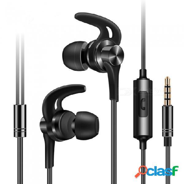 Qkz dt1 aleación de zinc en los auriculares de alta fidelidad del oído del teléfono auriculares metálicos estéreo en la oreja deportes auriculares auriculares con cancelación de ruido