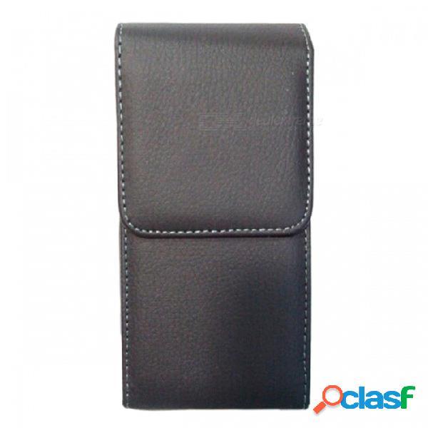 Ismartdigi i7p-bk-s premium cuero de la pu caja recta de cuerpo completo para iphone 7plus 7p 7+ - negro