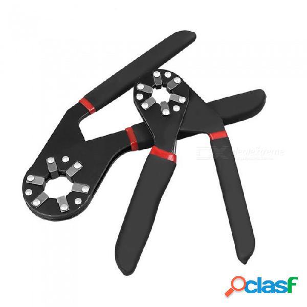 Llave hexagonal hexagonal hexagonal hexagonal hexagonal externa de acero en forma de y de alto carbono esamact, herramienta de reparación multifunción