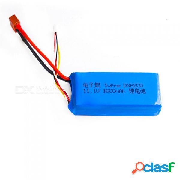 11.1v 1600mah t plug alta lipo batería para 1vp.me box dna250 e-cig rc helicóptero de control remoto quadcopter drone