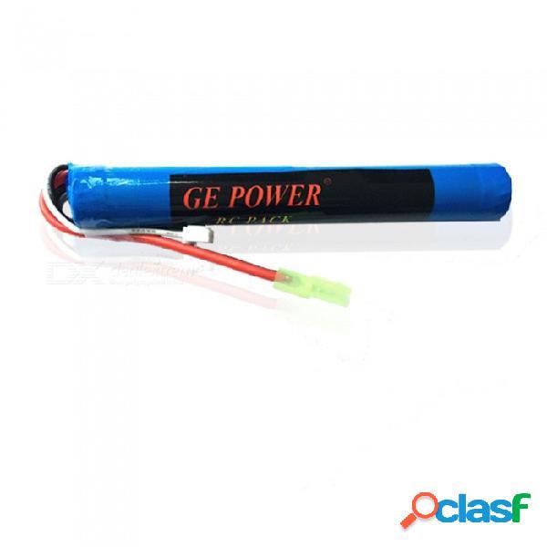 Ge power 7.4v 20c 1500mah pequeño tamiya plug 18650x2 alta lipo batería para control remoto helicóptero quadcopter drone