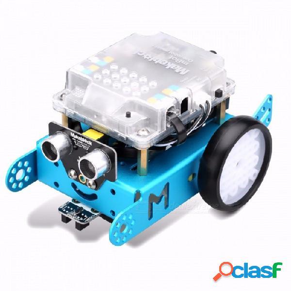 Makeblock mbot mini portátil versión mejorada mbot v1.1 arduino robot diy kit de coche, versión de actualización del robot de juguete educativo para niños
