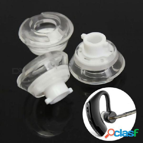 Pequeños auriculares tapones para los oídos puntas de gel para plantronics voyager legend bluetooth d13mm accesorios para auriculares 3 unids 3 unids