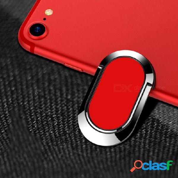 Soporte mini universal del soporte del teléfono del anillo de dedo magnético de la rotación de 360 grados, soporte del tablero de instrumentos del coche