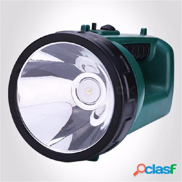 Yage luz portátil focos led linterna camping camping proyector portátil linterna de mano lámpara nocturna yg-h103 blanco frío / verde