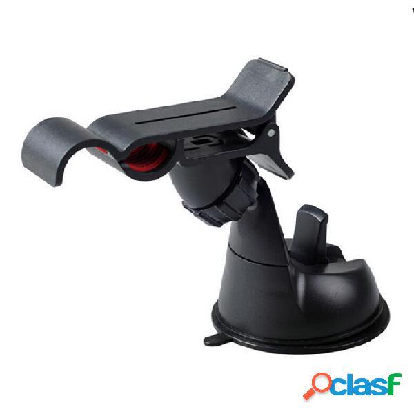 Soporte del soporte del soporte de la ventosa del coche de la rotación de 360 grados para el gps / teléfono móvil