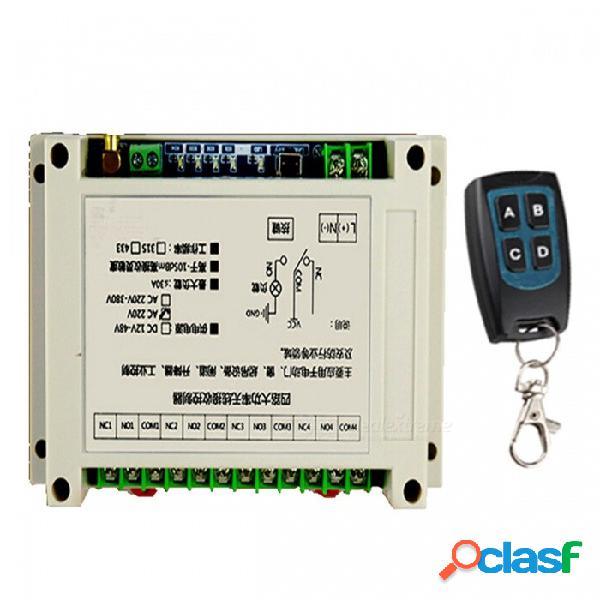 Controlador de receptor inalámbrico de alta potencia de cuatro vías utilizado para puertas eléctricas, ventanas, puertas y productos de seguridad
