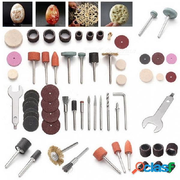 """Conjunto de herramientas eléctricas rotativas para 1/8"""" accesorio de corte de pulir de lijado de espiga conjunto de herramientas mini kit de perforación abrasivo 40pcs corlorful"""
