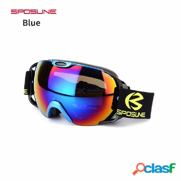Ski goggles men women snowboard glasses for skiing protection snow dual lens anti-fog windproof goggles