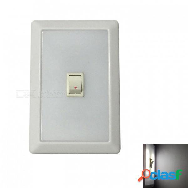 Ismartdigi 013 luz de noche del sistema de interruptor de luz led universal para interiores o exteriores usando el armario de la pared de la puerta - blanco