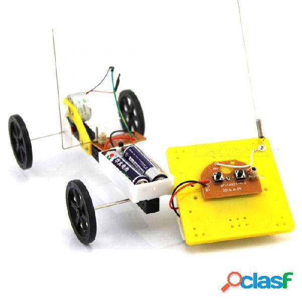 Juguete creativo del rompecabezas del coche teledirigido hecho a mano británico de 2 maneras para los niños