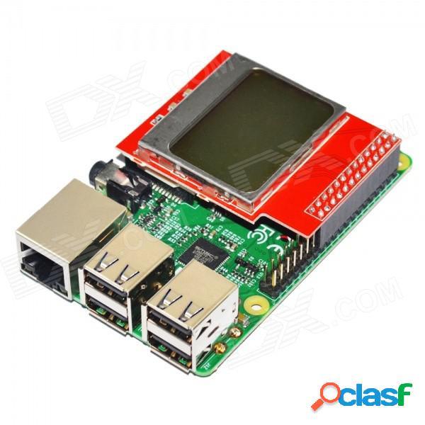 Módulo de pantalla mini cpu 84 x 48 pcd8544 con pantalla lcd con retroiluminación para frambuesa pi b + / b