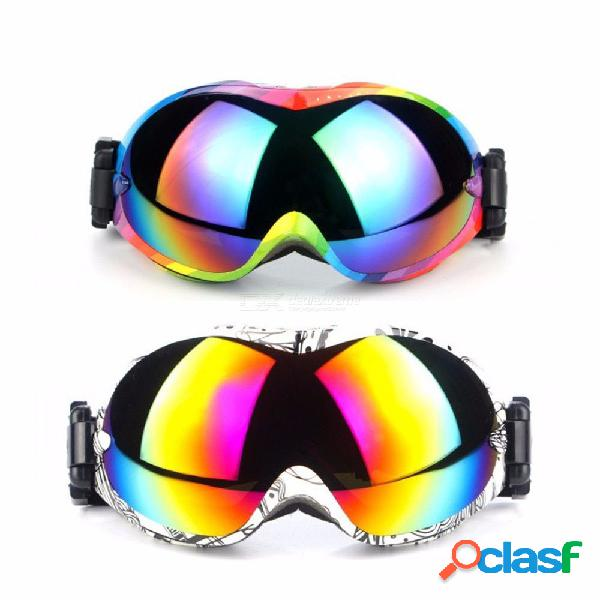 Ski goggles men women snowboard glasses multi color for skiing protection snow anti-fog dual lens eyewear